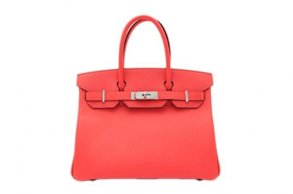 NEW Túi xách Hermes birkin 30 màu đỏ