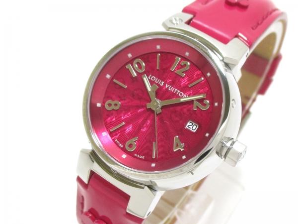 SA Đồng hồ Louis Vuitton Q121W màu đỏ hồng