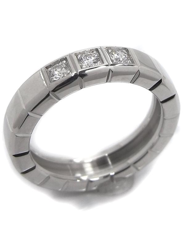 SA Nhẫn Chopard K18WG kim cương size 9