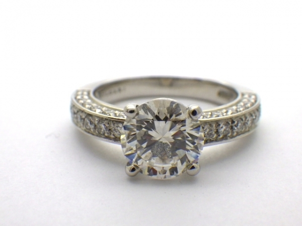 Nhẫn kim cương BVLGARI 1,51ct size 8