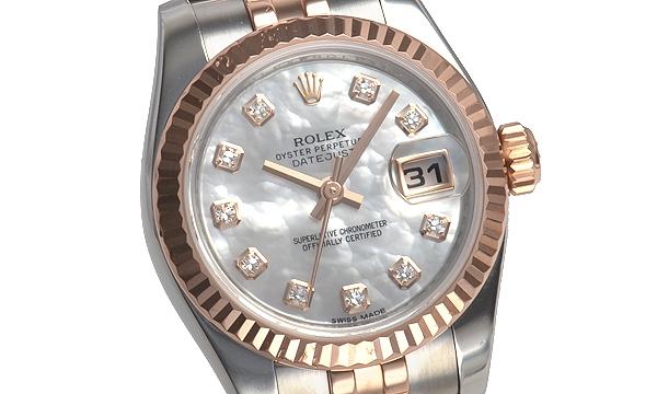 USED Đồng hồ Rolex datejust 179171 nữ mặt sò