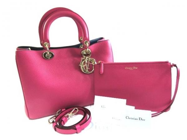Túi xách Christian Dior Diorisshimo màu hồng