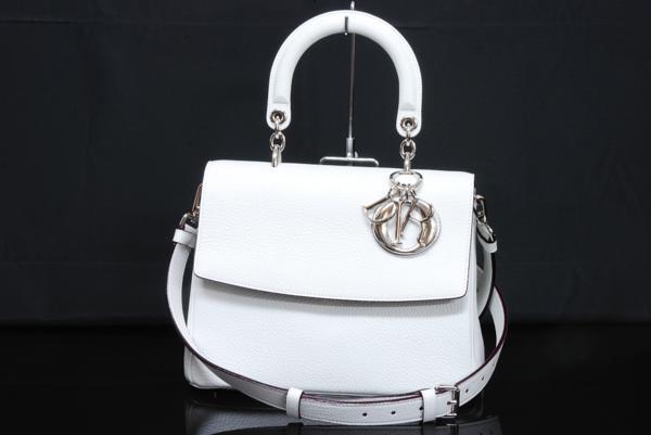 S Túi xách Christian Dior mini màu trắng