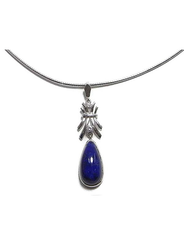 Vòng cổ Mikimoto K18WG kim cương