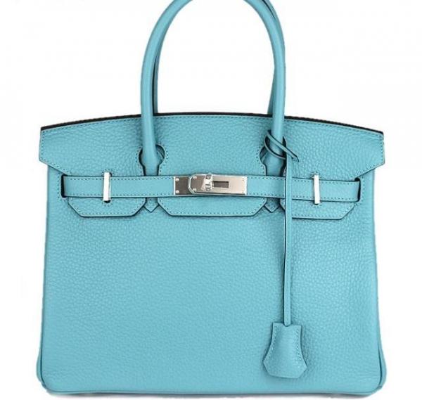 NEW Túi xách Hermes birkin 30 màu xanh blue