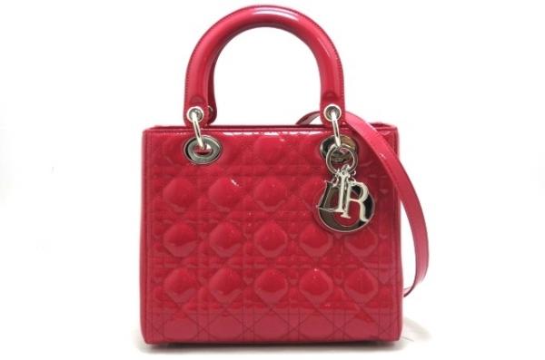 Túi xách Christian Dior màu đỏ tươi