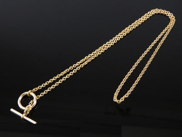 S Vòng cổ Hermes 750YG màu vàng