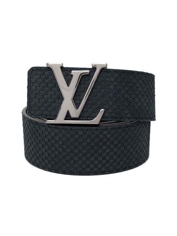 MS5008 Thắt lưng Louis Vuitton size 90 da lộn đen M6875U