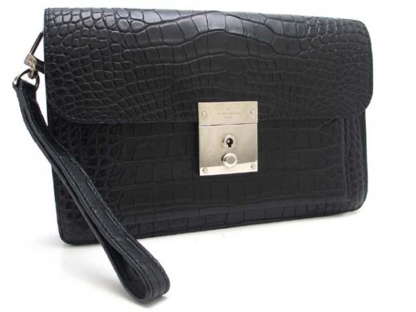 Túi cầm tay Louis Vuitton da cá sấu
