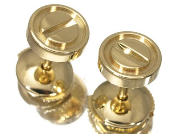 S Bông tai Cartier vàng K18YG