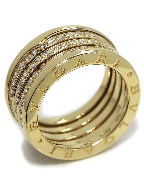 Nhẫn Bvlgari B-Zero 1 K18YG kim cương size 17.5