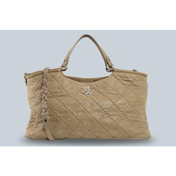 Túi xách Chanel màu xám nâu