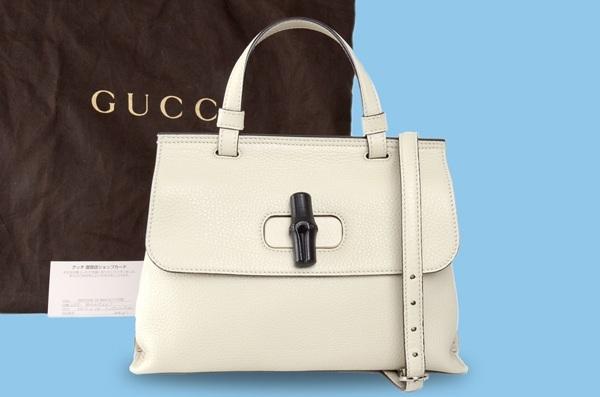 S Túi xách Gucci màu trắng