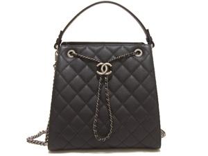 S Túi xách Chanel caviar màu đen