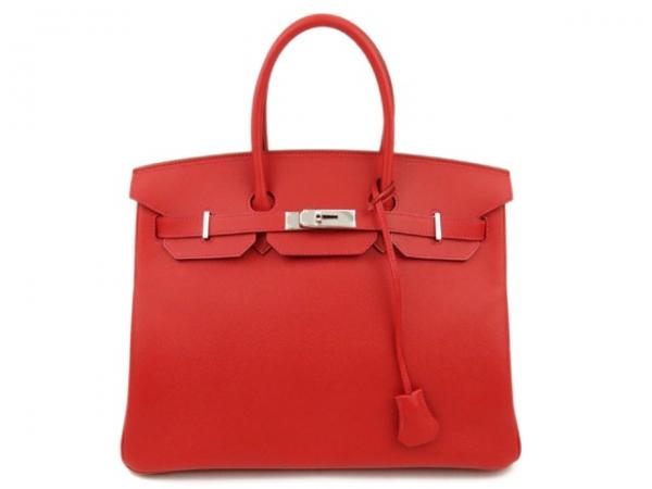 S Túi xách Hermes birkin 35 màu đỏ