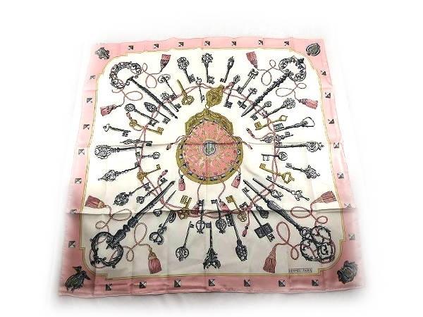 Khăn lụa Hermes màu hồng
