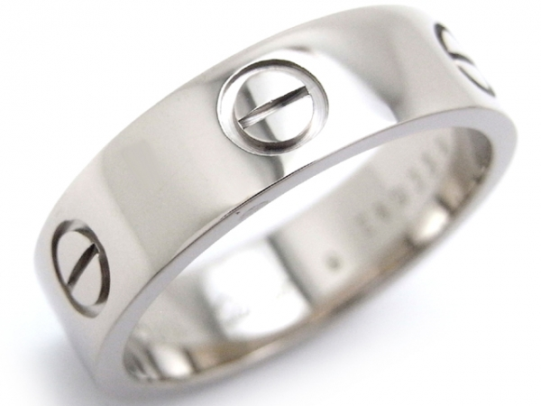 Nhẫn Cartier Love ring  750WG size 59