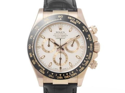 SA Đồng hồ Rolex K18PG dây da 116515LN