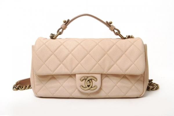 SA Túi xách Chanel màu kem A67622