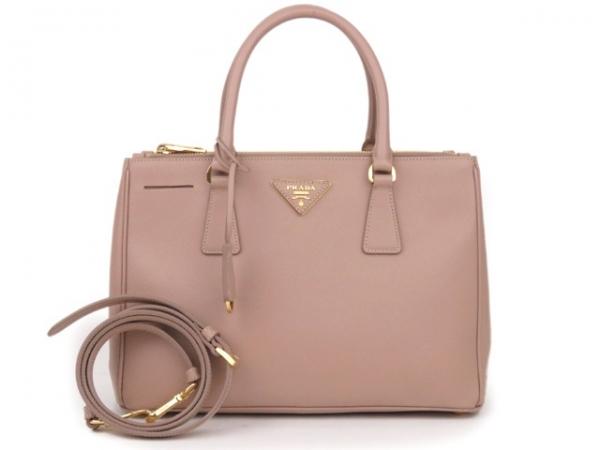 Túi xách Prada màu hồng BN1801