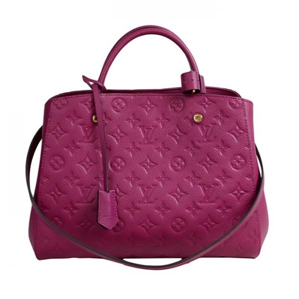 S Túi xách Louis Vuitton Montaigne màu tím