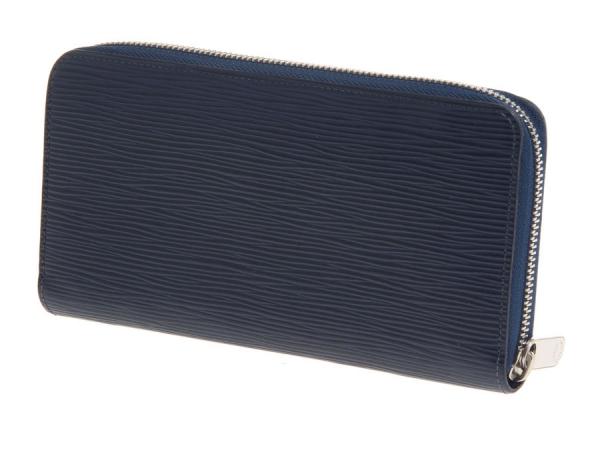 MS7029 Ví Louis Vuitton epi xanh indigo