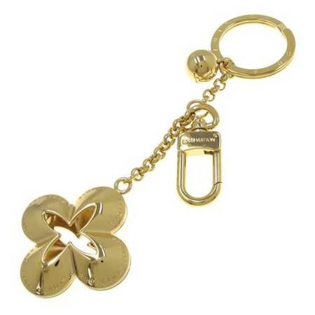 MS8058 Móc khóa Louis Vuitton bông hoa màu vàng