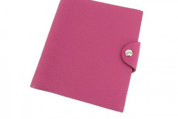 Bọc sổ tay Hermes PM màu hồng