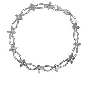 S vòng tay Louis Vuitton màu bạc Q95087