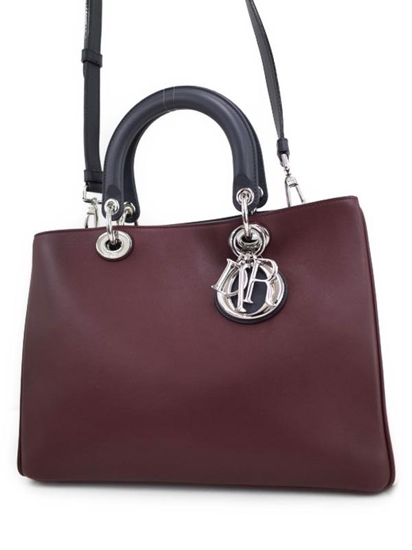 Túi xách Christian Dior đeo vai màu nâu