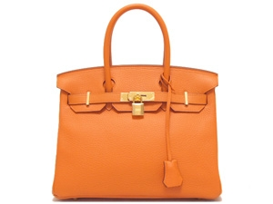 NEW Túi xách Hermes birkin 30 màu cam