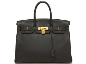 S Túi xách Hermes birkin 35 màu đen