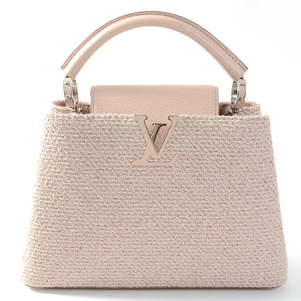 Túi xách Louis Vuitton Capucines BB hồng nhạt M50680