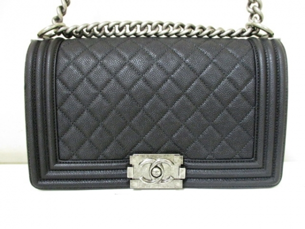 SA Túi Chanel boy Caviar màu đen A67086