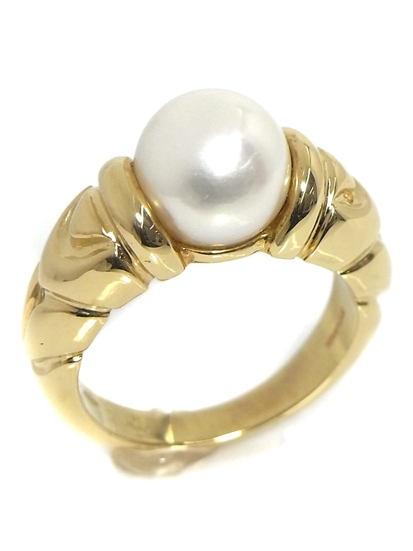 Nhẫn Bvlgari vàng K18YG kim cương size 12