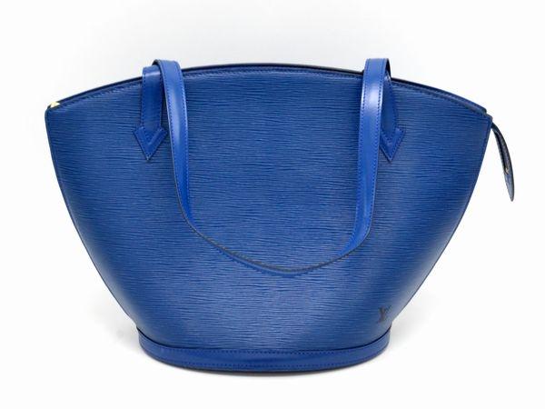 Túi Louis Vuitton epi saint jacques màu xanh M52265
