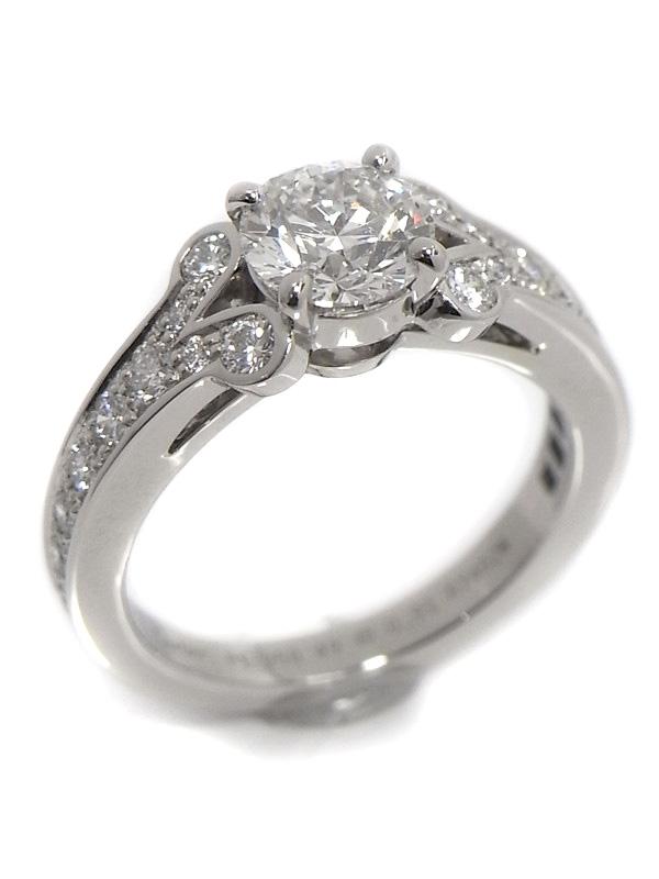 SA Nhẫn Cartier Pt950 kim cương 0.91ct size 49