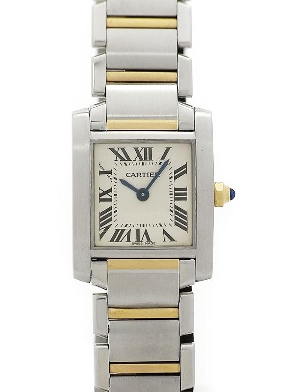 Đồng hồ nữ Cartier Tank Francaise SM W51007Q4