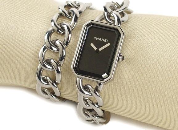 Đồng hồ Chanel hình chữ nhật H4199
