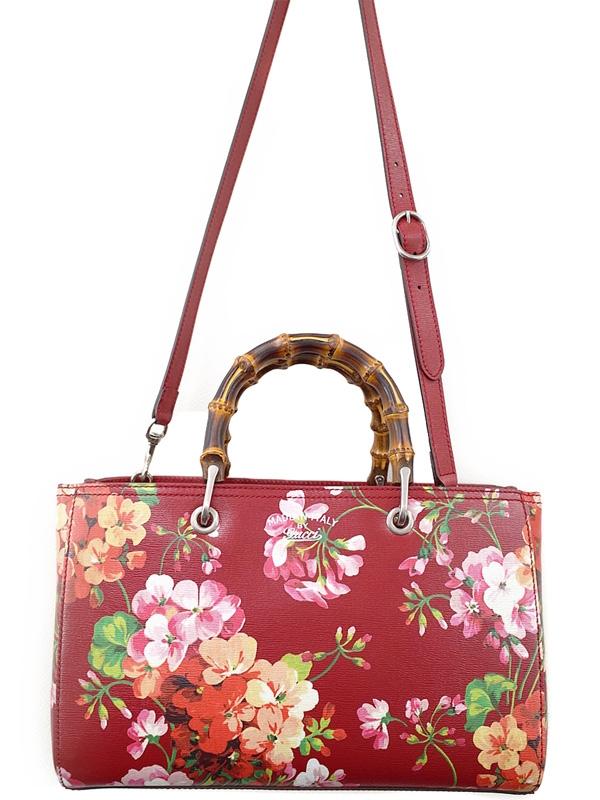 S Túi xách Gucci hoa đỏ 323660