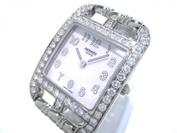Đồng hồ Hermes kim cương CC1.230