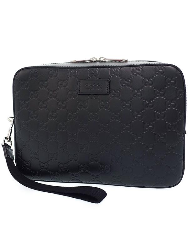 Túi xách nam Gucci Shima đen 429.146