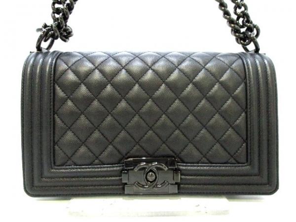 Túi xách Chanel Boy màu đen A67086