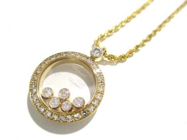 SA Vòng cổ Chopard K18YG kim cương