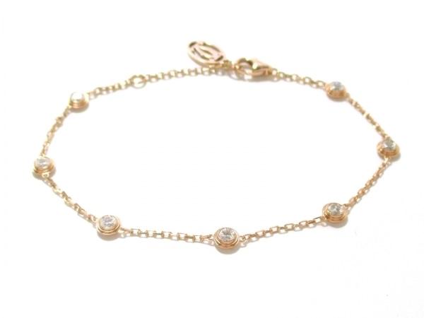S Vòng tay Cartier vàng hồng K18PG kim cương