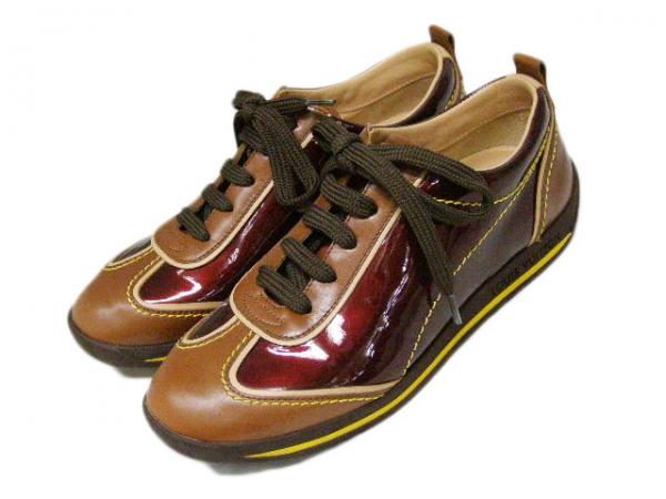 S Giày Louis Vuitton màu nâu size 35
