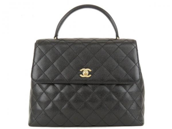 SA Túi xách Chanel caviar màu đen