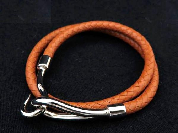 SA Vòng tay Hermes màu cam BR827