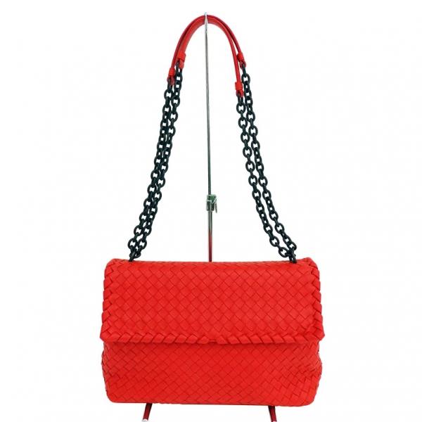 SA Túi đeo vai Bottega Veneta màu đỏ B0496