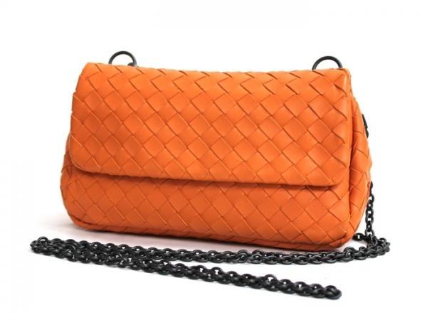 SA Túi đeo chéo Bottega Veneta màu cam